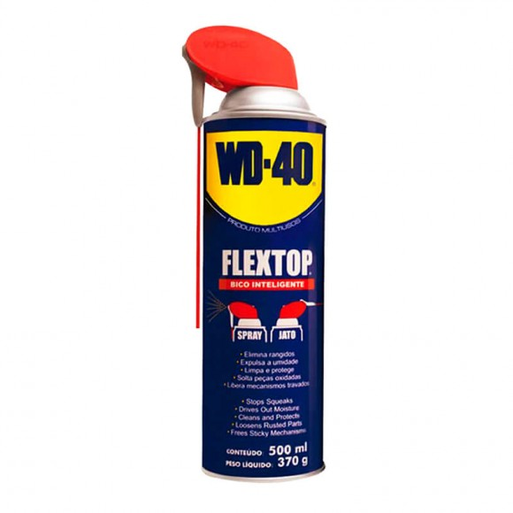 Lubrificante Multiusos 500ml Wd-40 Flex Top